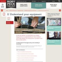 Understanding your equipment