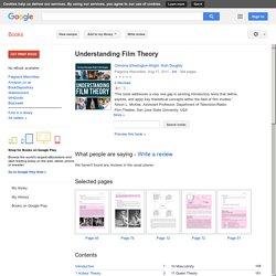 Understanding Film Theory - Christine Etherington-Wright, Ruth Doughty