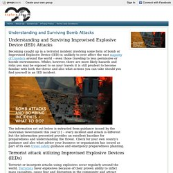 Understanding and Surviving Bomb Attacks : exploresecure