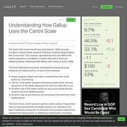 Understanding How Gallup Uses the Cantril Scale
