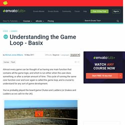 Understanding the Game Loop – Basix