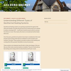 Understanding Different Types of Geothermal Heating Systems