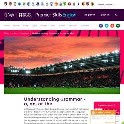 Understanding Grammar - a, an, or the