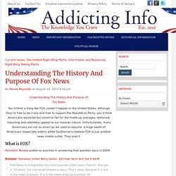 Understanding The History And Purpose Of Fox News