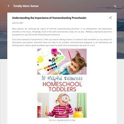 Understanding the Importance of Homeschooling Preschooler