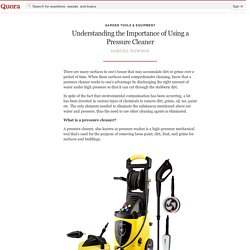 Understanding the Importance of Using a Pressur... - Garden Tools & Equipment - Quora