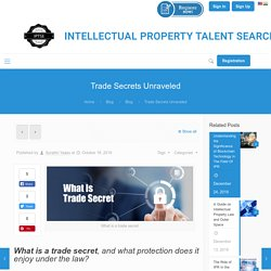 What is Trade Secret: Importance and Types