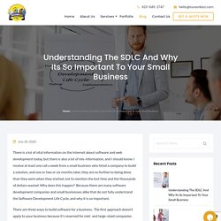 Understanding The SDLC And Why Its So Important To Your Small Business