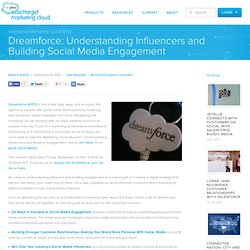 Understanding Influencers and Building Social Media Engagement