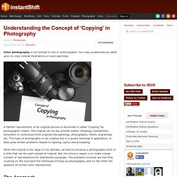 Understanding the Concept of 'Copying' in Photography