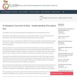 IV Drip Hangover Cure Miami