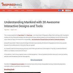Understanding Mankind with 30 Awesome Interactive Designs and Tools