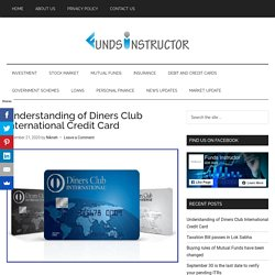 Understanding of Diners Club International Credit Card - Funds Instructor