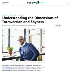 Understanding the Dimensions of Introversion & Shyness