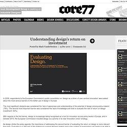 Understanding design's return on investment