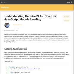 Understanding RequireJS for Effective JavaScript Module Loading