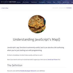 Understanding JavaScript's Map()