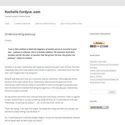 Rachelle Fordyce.com » Understanding Jealousy