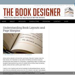 Understanding Book Layouts and Page Margins