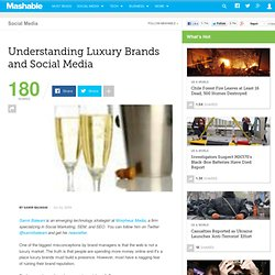 Understanding Luxury Brands and Social Media