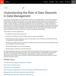 Understanding the Role of Data Stewards in Data Management