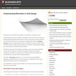 Understanding Minimalism in Web Design