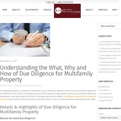 Understanding The What, Why, How Of Due Diligence For Multifamily Property