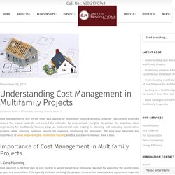 Understanding Cost Management in Multifamily Projects
