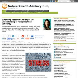 Surprising Research Challenges Our Understanding of Norepinephrine Deficiency - Natural Health Advisory