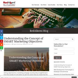 Understanding the Concept of SMART Marketing Objectives - RedAlkemi