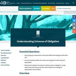 Lesson: Understanding Universe of Obligation