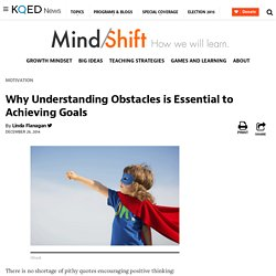 Why Understanding Obstacles is Essential to Achieving Goals