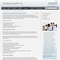 Understanding Organisational Culture