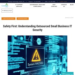 Understanding Small Business IT Security