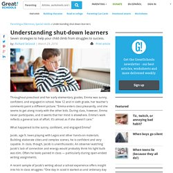 Shut-down Learners