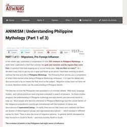 Understanding Philippine Mythology (Part 1 of 3)