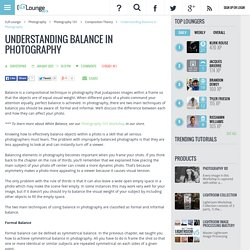 Understanding Balance in Photography