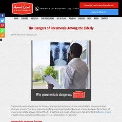Understanding the Dangers of Elderly Pneumonia