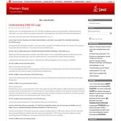 Understanding CMS GC Logs (Poonam Bajaj)