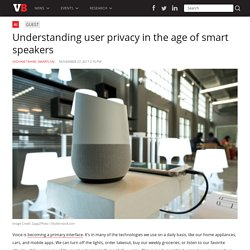 Understanding user privacy in the age of smart speakers
