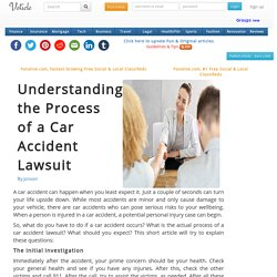 Understanding the process of a car accident lawsuit