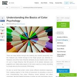 Understanding the Basics of Color Psychology
