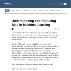 Understanding and Reducing Bias in Machine Learning