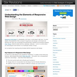 Understanding the Elements of Responsive Web Design