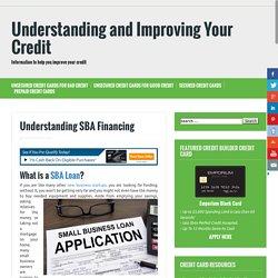 Understanding SBA Financing