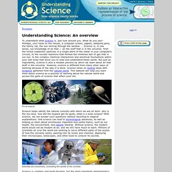Understanding Science: An overview