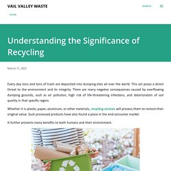 Understanding the Significance of Recycling