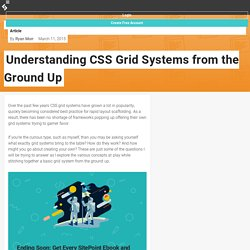 Understanding CSS Grid Systems from the Ground Up — SitePoint