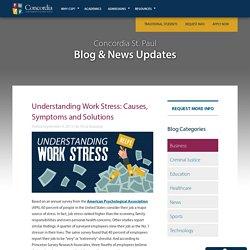 Understanding Work Stress: Causes & Symptoms