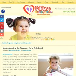 Understanding the Stages of Early Childhood